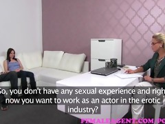 femaleagent. angel and the geek in casting