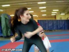 exposed fight club presents mira vs celine doll