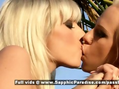 stela and karla hawt blonde lesbian babes giving